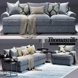 portofino sofa 3d model