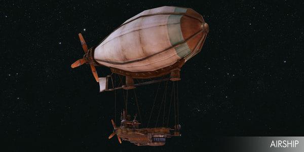 obj airship air