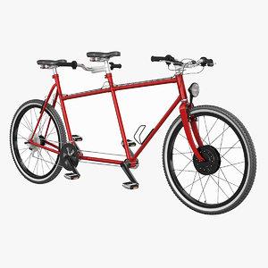 3d bicycle cycle tandem