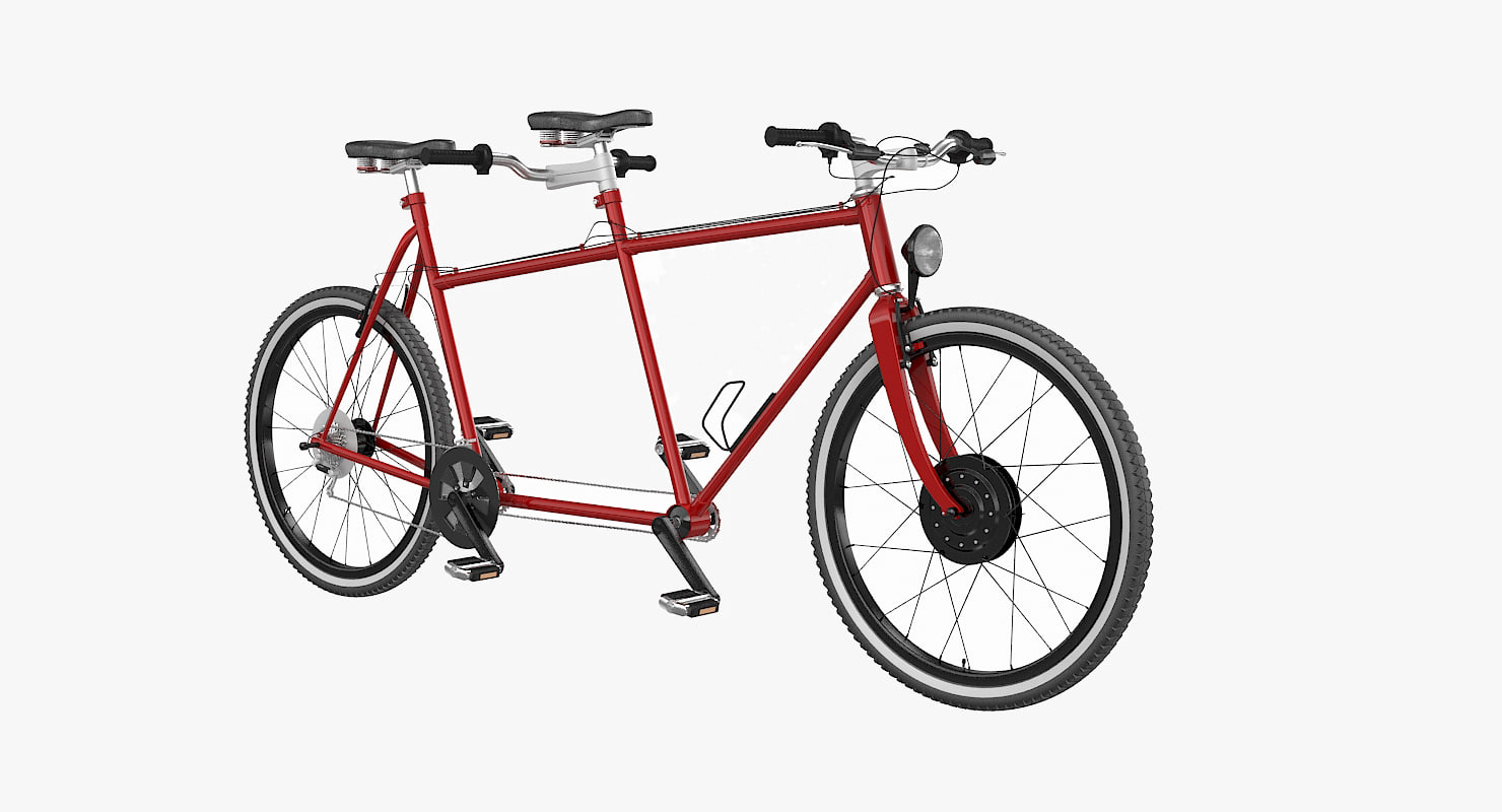 3d bicycle cycle tandem
