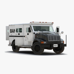 3d bank armored car 2