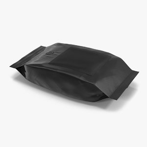 ground coffee bag plastic 3ds