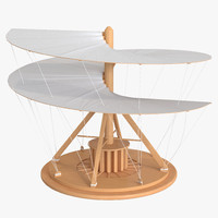 Leonardo Da Vinci Aerial Screw Rigged