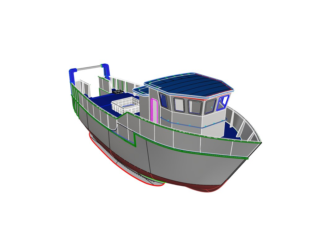 3ds 18 meter fishing vessel