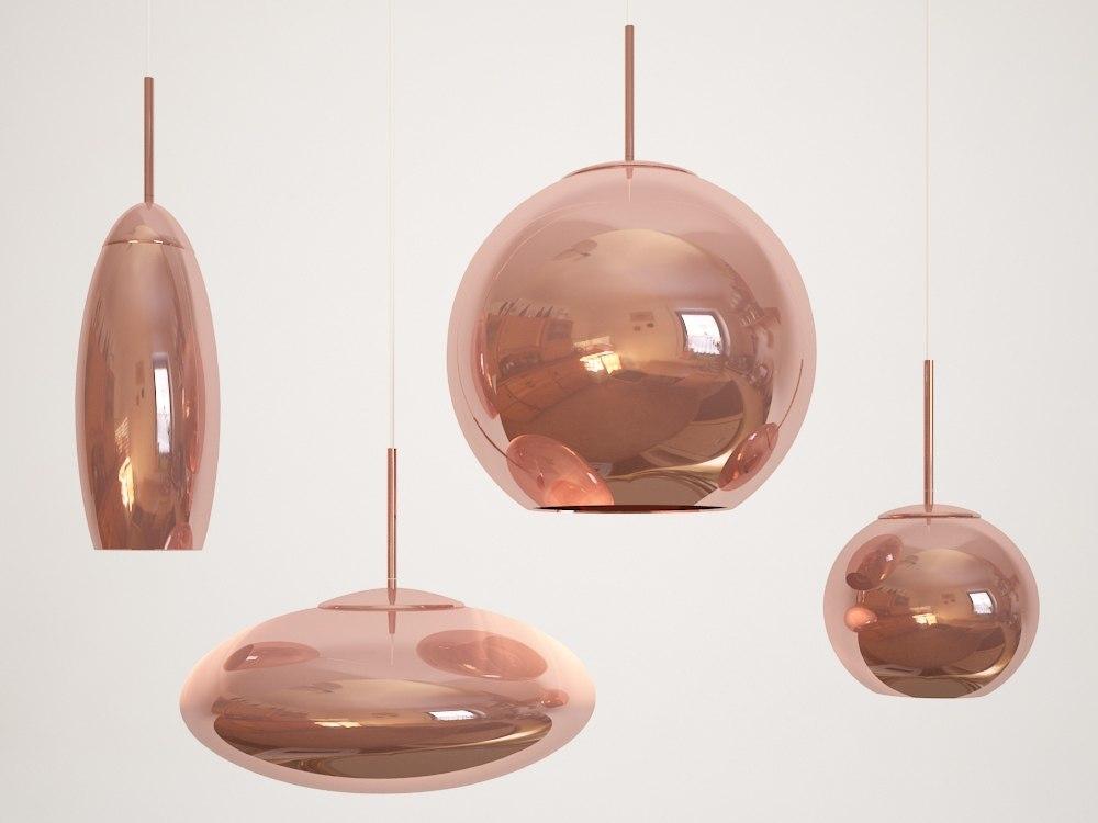 3d tom dixon copper shade