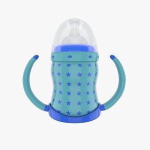 baby feeder 3d fbx
