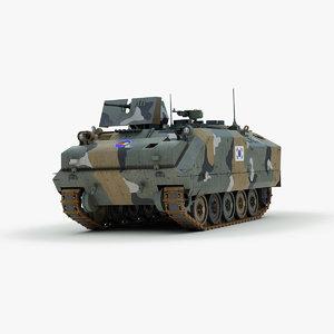 south kifv k200 3d model