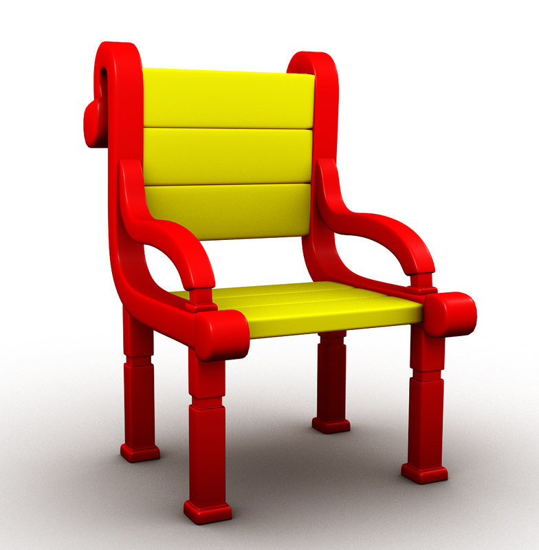 3d model seat chair
