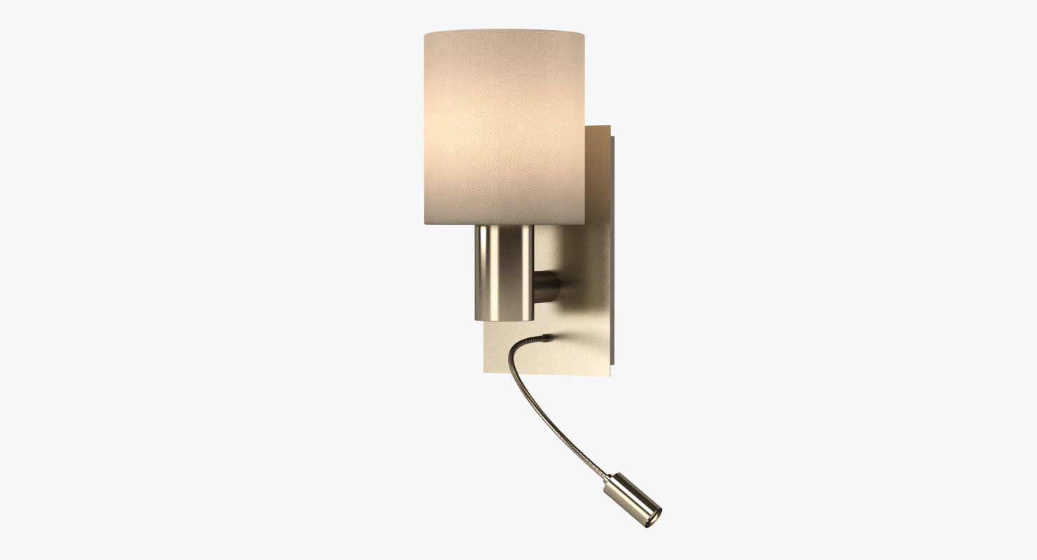 maserlo wall lamp 3d model