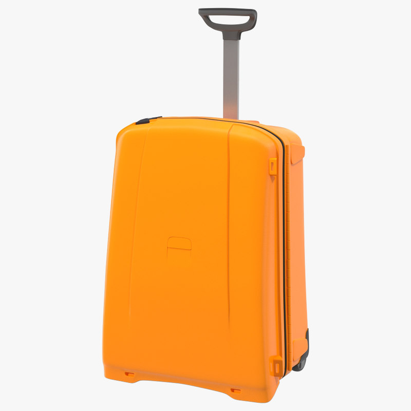 suitcase orange generic x