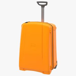 suitcase orange generic x