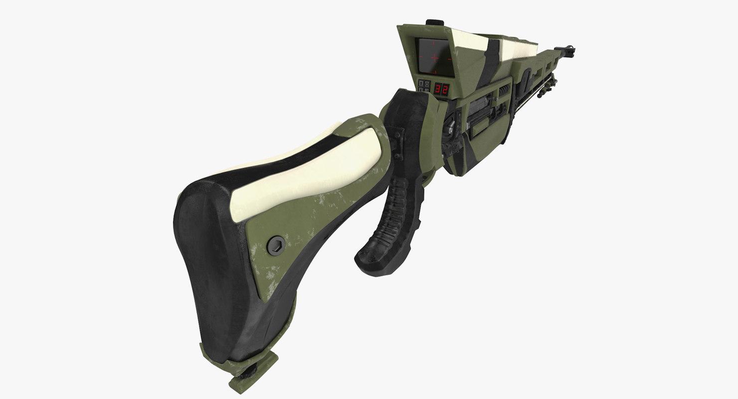 rifle sniper sci-fi max