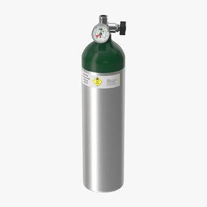 3d max oxygen tank