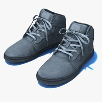 generic black shoe pbr 3d max