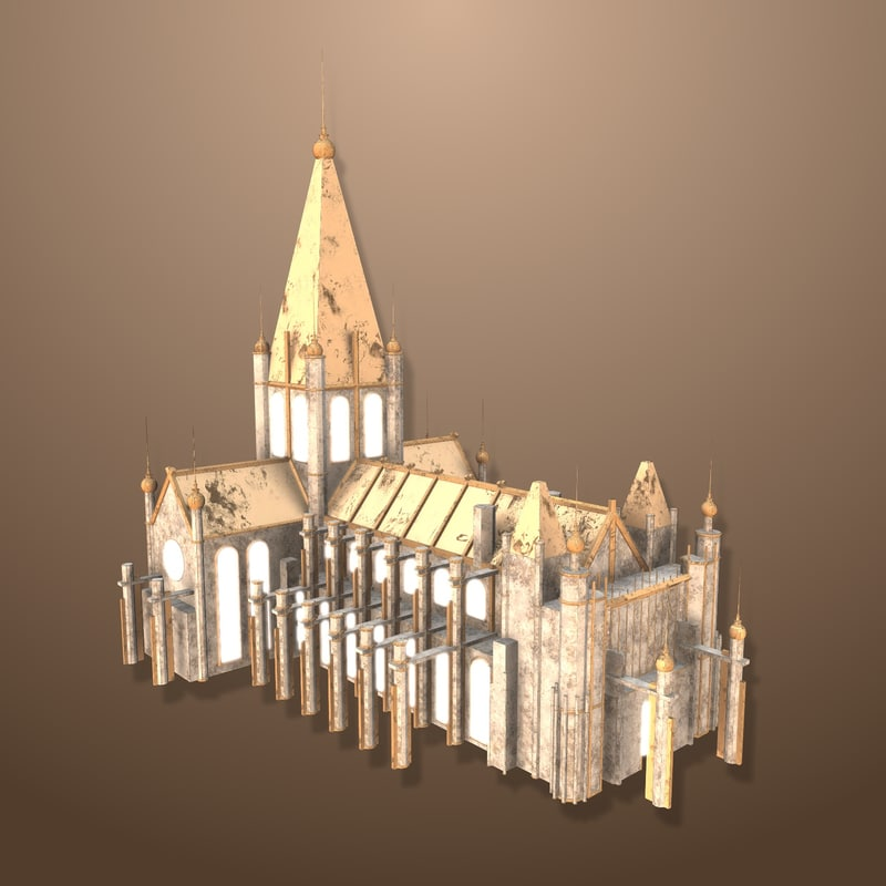 3d model town hall