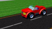 Brick Sports Car