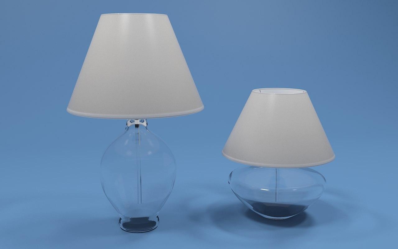 3d max capri madrid lamps
