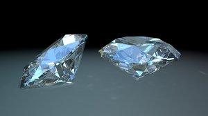 diamonds 3d c4d