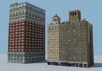 3d nyc buildings model