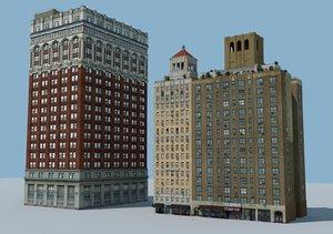 3d nyc buildings model