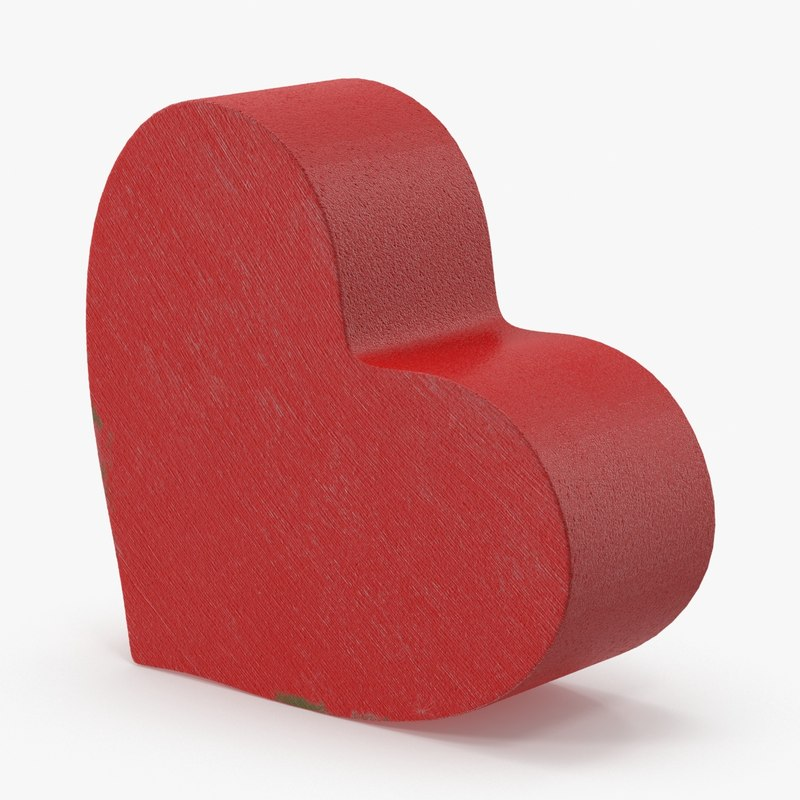 3d model heart 03
