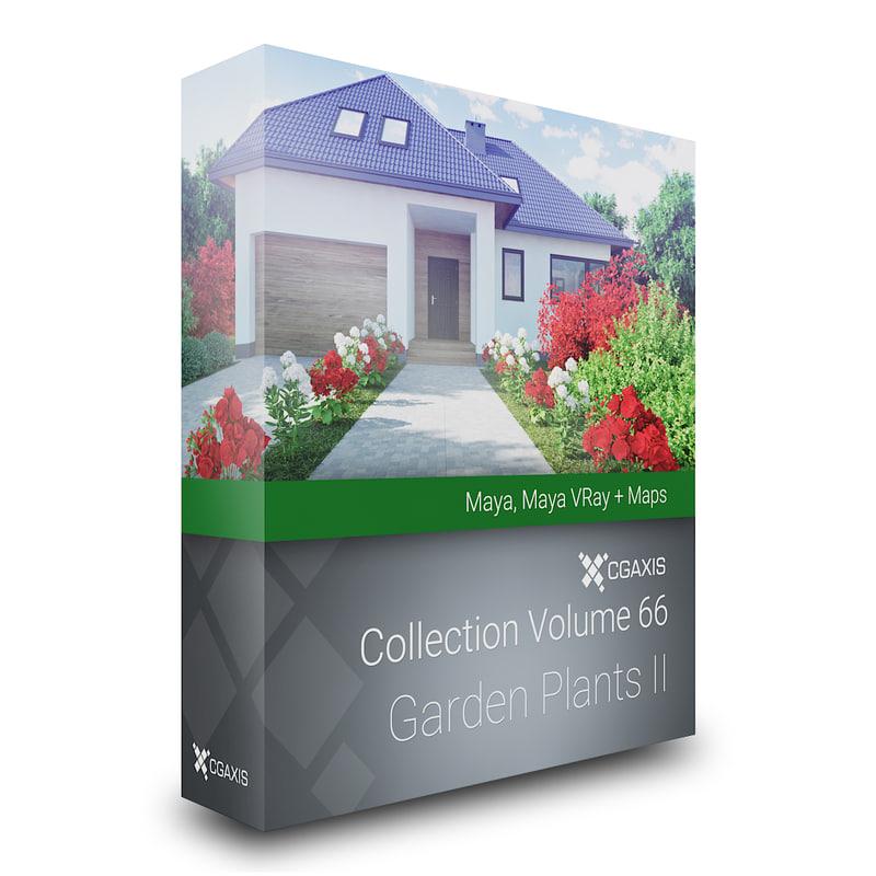 3d model of volume 66 garden plants