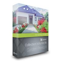 3d model volume 66 garden plants