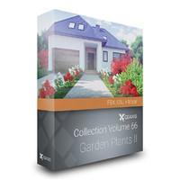 CGAxis Models Volume 66 Garden Plants II FBX OBJ