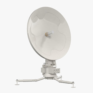 mobile communication antenna 3d max
