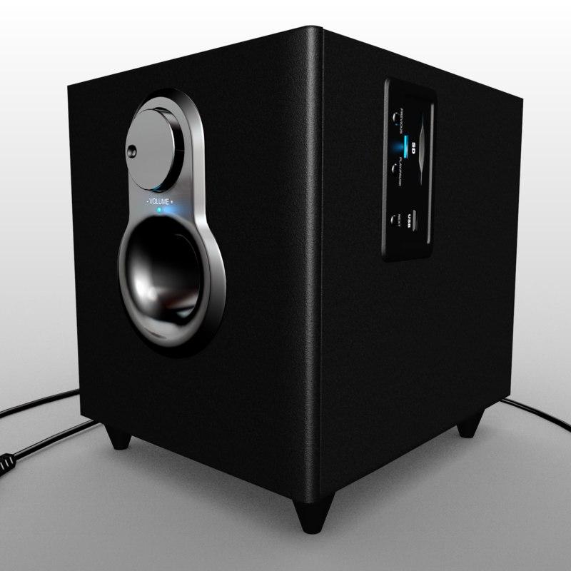 simple speaker 3ds