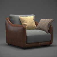 modern armchair 3d max