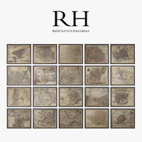 Restoration Hardware Circa Maps