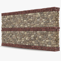 wall section greco roman 3ds