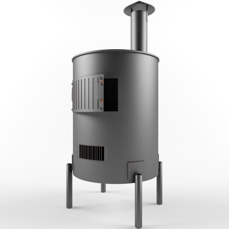 3d model furnace