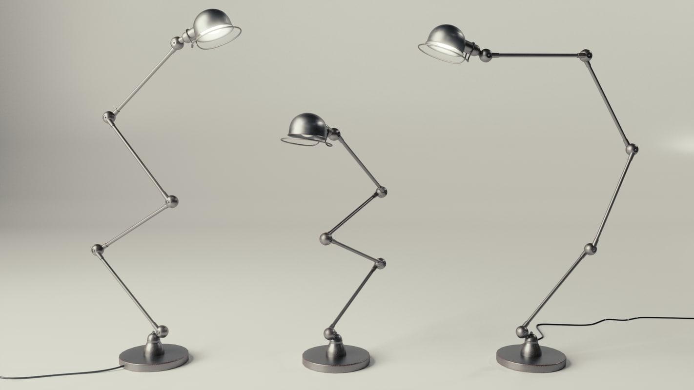 3ds jielde lamp