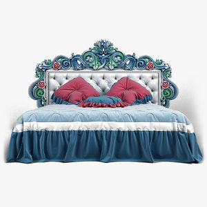 max fretwork bed