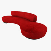 Serpentine Sofa Model 150BS