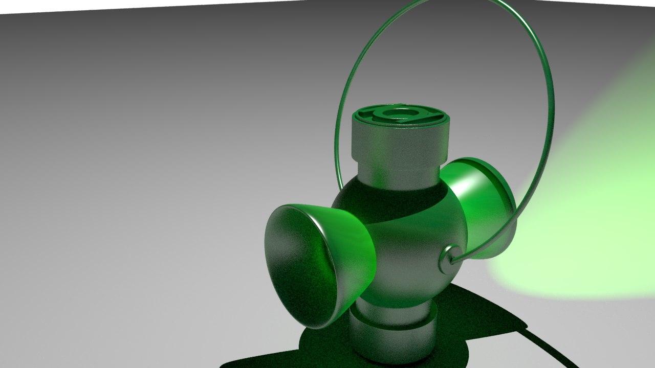 green lantern 3d model