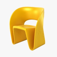3d model magis raviolo chair