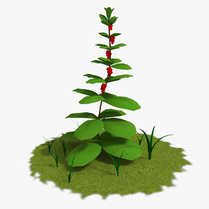 cartoon plants 3d max