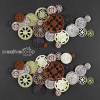 decorative picture buttons