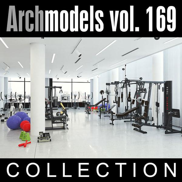 3d model of archmodels vol 169
