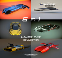 6 in 1 Hover Car Collection