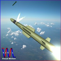 3d model army pac-3 mse missile
