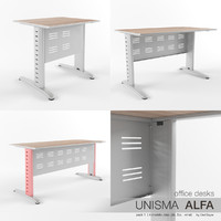 Office Desks Unisma Alfa (pack1)