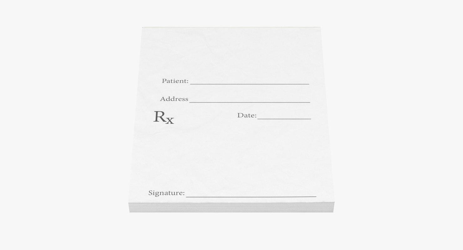 max prescription pad