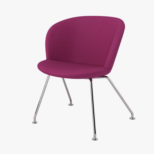 3d halle capri multi chair model