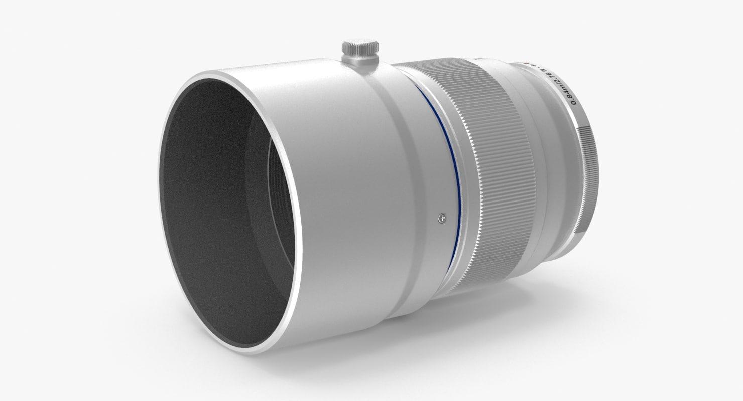 max camera lens