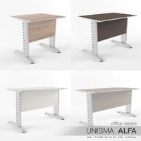 Office Desks Unisma Alfa (pack 2)