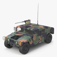 3d model of mobility multipurpose wheeled vehicle